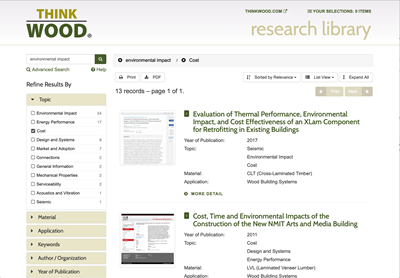 ThinkWood Research Library