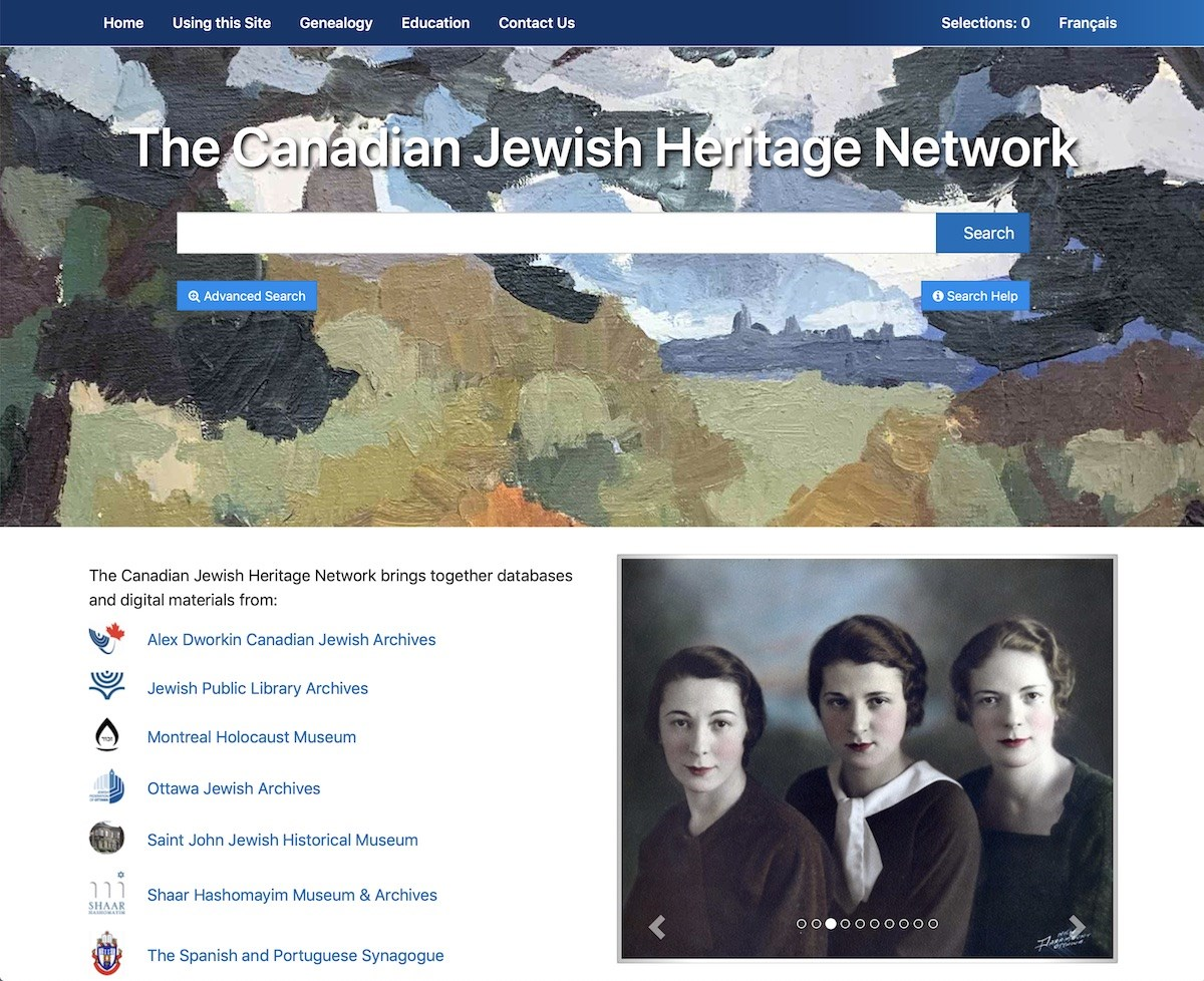 Canadian Jewish Heritage Network